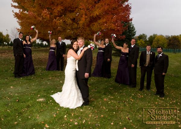 Wedding Illinois photos country